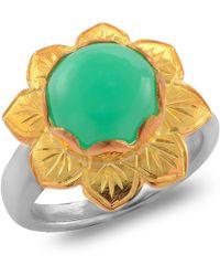 Emma Chapman Jewels | Isa Chrysoprase Ring | Lyst