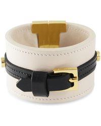 Tissuville - Skansen Bracelet Almond Latte Gold - Lyst