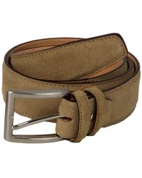 40 Colori - Beige Trento Leather Belt - Lyst