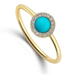 Elham and Issa Jewellery | Awe Circle Diamond Ring | Lyst