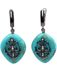 Bellus Domina - Turquoise Earrings - Lyst