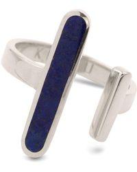 KIMSU - Open Ring Silver - Lyst