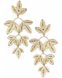 Kitik Jewelry - Takay Gold Earring - Lyst