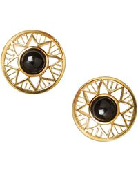 Alexandra Alberta - Chelsea Onyx Earrings - Lyst