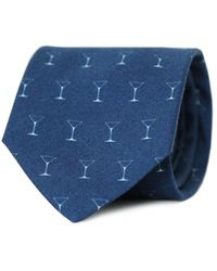 Tom Astin - Shaken Not Stirred Necktie - Lyst
