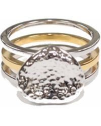 Serge Denimes - Stacked Bedrock Ring - Lyst