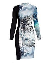 Rumour London - Whimsy Jersey Print Dress - Lyst