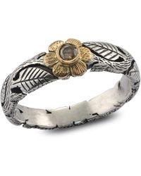 Emma Chapman Jewels - Daisy Diamond Flower Ring - Lyst