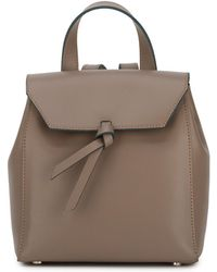 Alexandra De Curtis - Hepburn Mini Backpack Fango - Lyst
