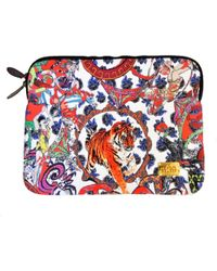 Jessica Russell Flint - Crazy Circus Laptop Bag With Velvet Lining - Lyst