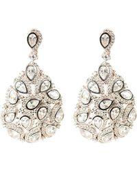 LÁTELITA London - Peacock Earring Silver - Lyst