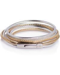 TANCHEL - Samaya Tiny Triple Bracelet In Summer Solstice Gold - Lyst