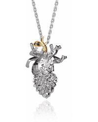 Kasun - Forbidden Heart – Silver - Lyst