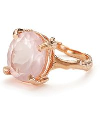 Chupi - Drop In The Wild In Rose Quartz & Rose Gold - Lyst