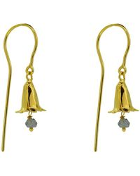 Yvonne Henderson Jewellery - Bluebell Drop Earrings With Iolite - Lyst