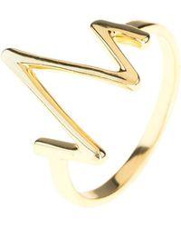 LÁTELITA London - Cosmic Heartbeat Ring Gold - Lyst
