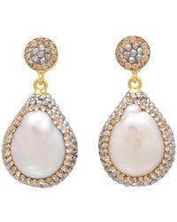 Carousel Jewels - Mother Of Pearl Drop Earrings - Lyst