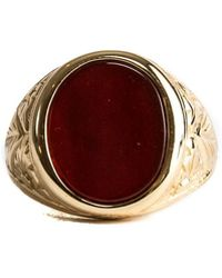 Serge Denimes - Red Agate Ring - Lyst