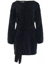 Funlayo Deri - Blake Wool Mini Dress - Lyst