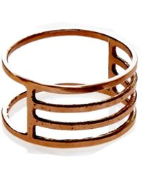 KIND - Rose Gold Eclipse Ring - Lyst