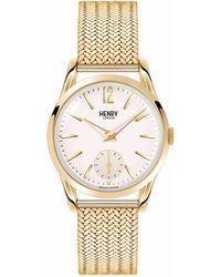 Henry London - Ladies Polished 'westminster' Bracelet Watch Hl30-um-0004 - Lyst