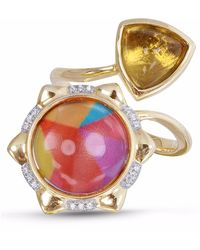 LMJ - Girl On Fire Ring - Lyst