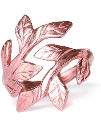 Chupi - Wrap Your Laurels Around Me Ring In Rose Gold - Lyst
