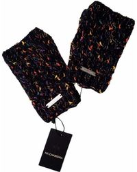 NY CHARISMA - Hand Knitted Confetti Space Dyed Cables Gloves - Lyst