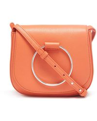 Thacker NYC - Sabine Saddlebag In Mandarin - Lyst