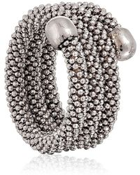 Durrah Jewelry - Silver Spring Ring - Lyst