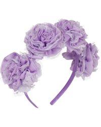 Vjera Vilicnik - Carnation Headband Lilac - Lyst