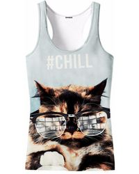 Aloha From Deer - Catty Tank Top - Lyst