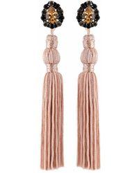 Wafa By Wafa - Nude Jasmine Earrings - Lyst