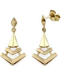 MONARC JEWELLERY - The Montezuma Prism Drops 9ct Gold - Lyst