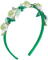Vjera Vilicnik - Michaela Headband Green - Lyst