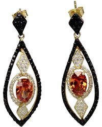 Bellus Domina - Amare Zirconia Earrings - Lyst