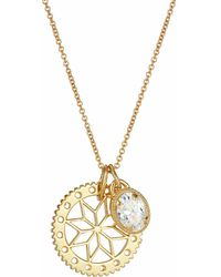 One and One Studio - Gold Flower Jewel Combo - Lyst