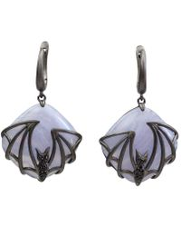 Bellus Domina - Bat Earrings - Lyst