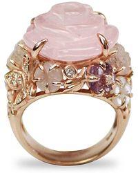Bellus Domina - Amare Rose Ring - Lyst