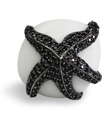 Bellus Domina - Adjustable Starfish Cocktail Ring - Lyst