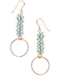 Amundsen Jewellery - Ring Earrings - Lyst