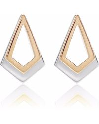 Neola - Rose Gold & Sterling Silver Earrings Serenity - Lyst