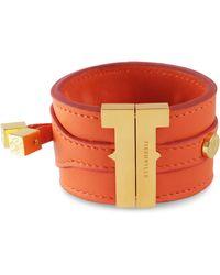 Tissuville - Solo Bracelet Clementine Gold - Lyst