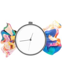 May28th - 04:25pm Colourful Pattern Silk Watch - Lyst