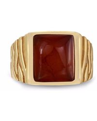 LMJ - Cracked Agate Stone Ring - Lyst