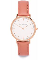 Elie Beaumont - Oxford Small Pink Nappa Leather - Lyst