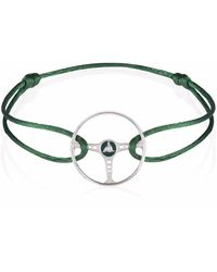 The Mechanists - British Green Racing Steering Wheel On British Green Cord - Lyst
