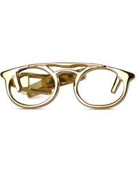 Tom Astin - Spectacular Gold Tie Bar - Lyst