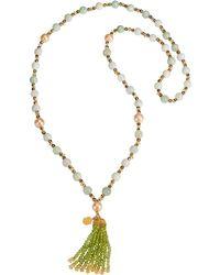 MIELINI - Venus Long Tassel Necklace - Lyst
