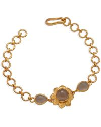 Emma Chapman Jewels | Isa Black Moonstone Bracelet | Lyst